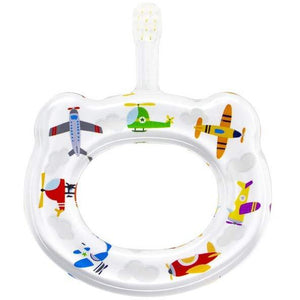 Baby's First Toothbrush with Airplanes by Hamico