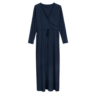 Women's Luxurious Pima Cotton & Modal Robe - The Perfect Bridal Gift Idea - a1bebe