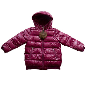 Infants' and Toddlers Quilted Winter Jacket - a1bebe
