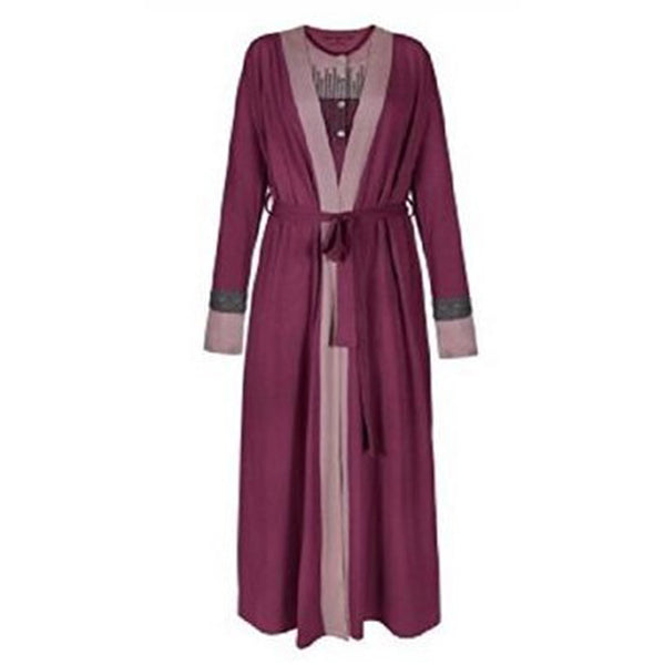 Women's Pima Cotton and Modal Comfy Long Sleeve Robe