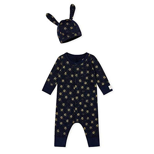 Petit Bateau Baby Romper + Hat - Perfect Baby Shower Gift - a1bebe