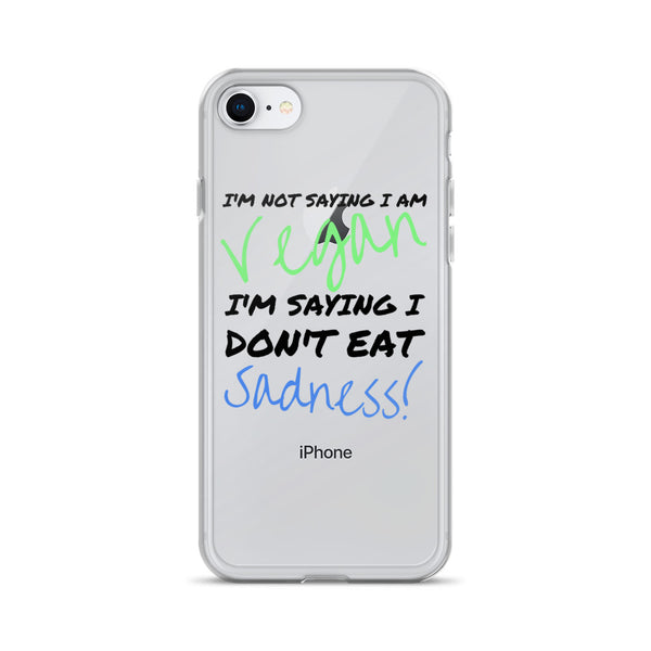 Vegan Vegetarian iPhone Case