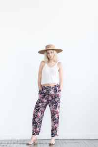 Breezy Botanical Sheer Pants.