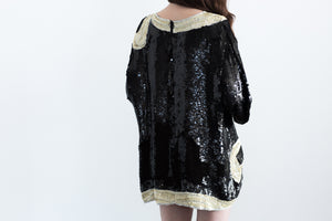 Sparkle Trophy Night Out Shirt Dress