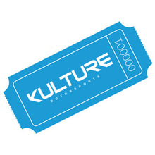 Load image into Gallery viewer, 1 Kulture Ticket