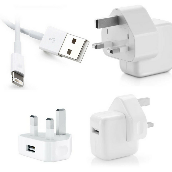 Original iPhone Charger \u0026 Adapter, For iPhone, iPad \u0026 iPod