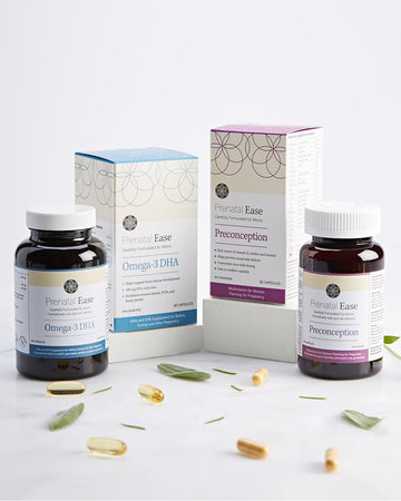Preconception Bundle - Prenatal Ease optimized nutrition
