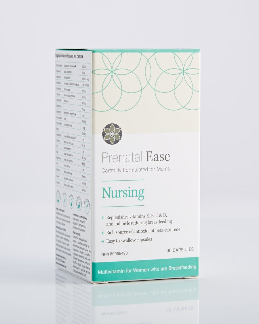 Nursing Bundle - Prenatal Ease optimized nutrition