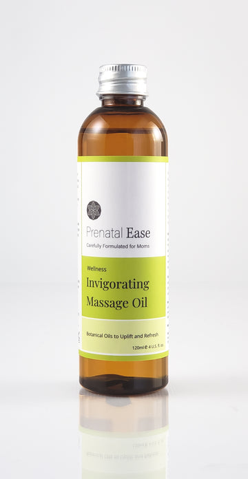 Invigorating Massage Oil - Prenatal Ease optimized nutrition