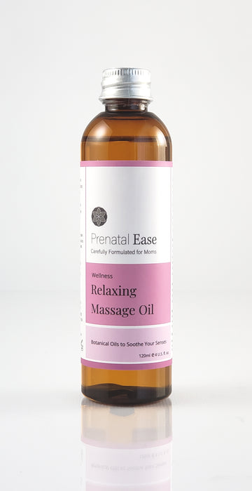 Relaxing Massage Oil - Prenatal Ease optimized nutrition