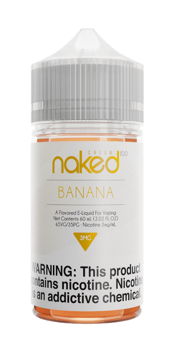 Naked 100 Cream - 60ml - Banana