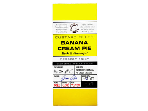 Glas Basix Series - 60ml - Banana Cream Pie