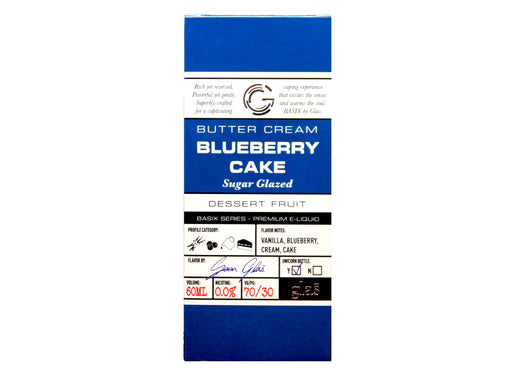 Glas Basix Series - 60ml - Blueberry Cake