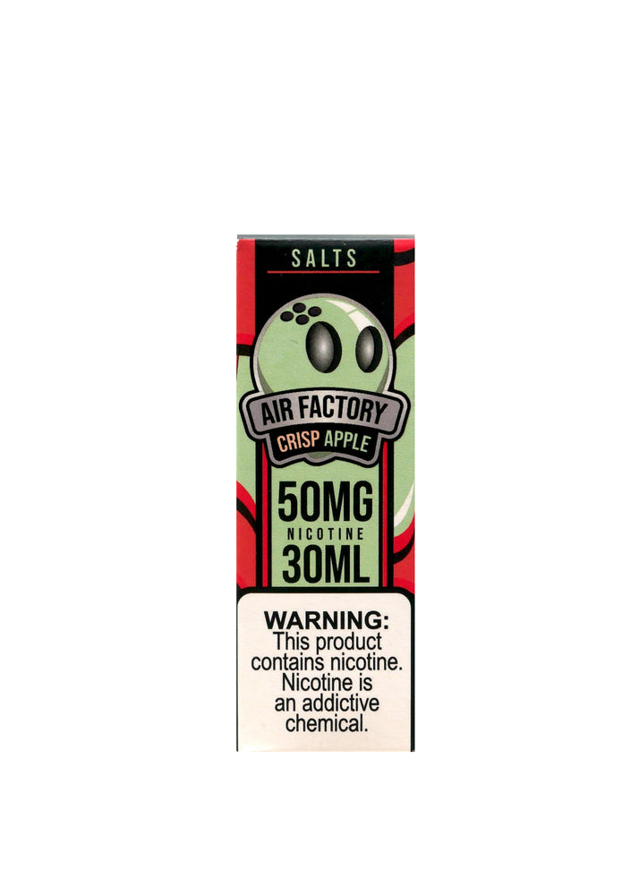 Air Factory Salt - 30ml - Crisp Apple