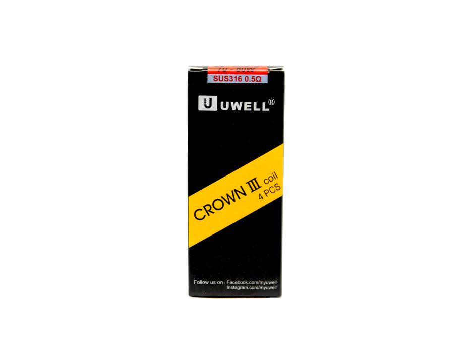 UWELL Crown 3 Coils 4 - Pack