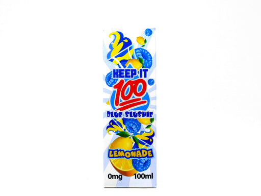 Keep It 100 - 100ml - Blue Slushie Lemonade