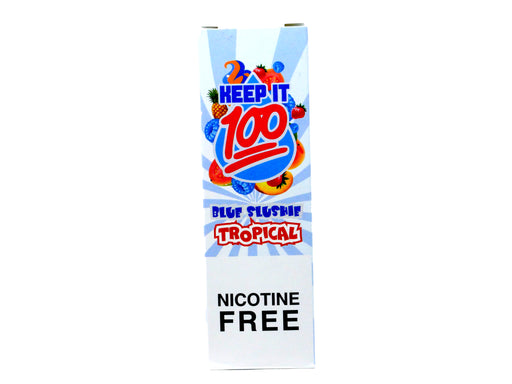 Keep It 100 - 100ml - Blue Slushie Tropical