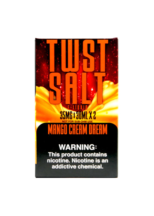 TWIST SALT - 60ml - Mango Cream Dream