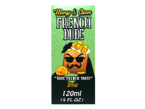 VAPE BREAKFAST CLASSICS - 120ml - Mango & Cream French Dude