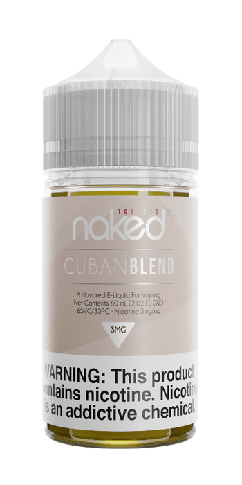 Naked 100 Tobacco - 60ml - Cuban Blend