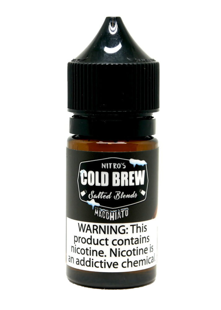 Nitro's Cold Brew Salt - 30ml - Macchiato
