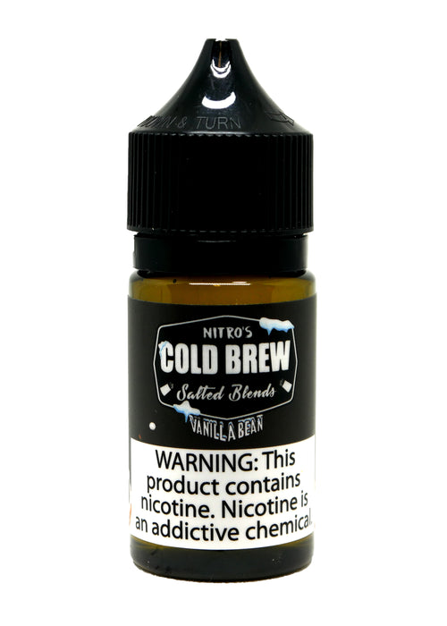 Nitro's Cold Brew Salt - 30ML - Vanilla Bean