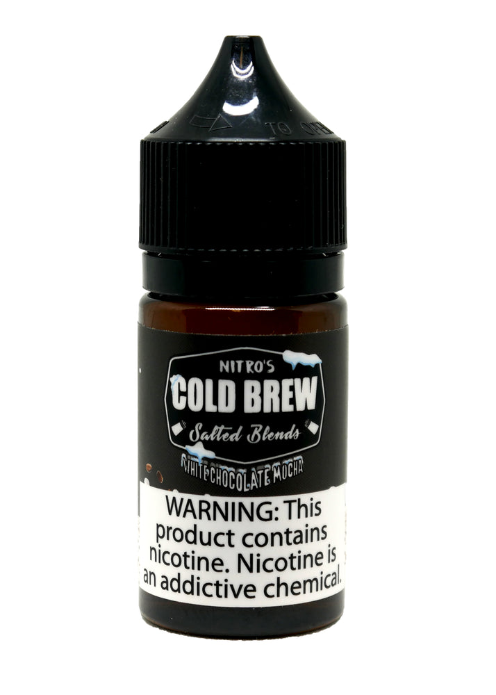 Nitro's Cold Brew Salt - 30ml - White Chocolate Mocha