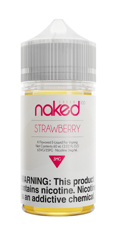 Naked 100 Cream - 60ml - Strawberry