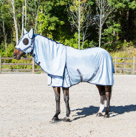Horze Freja Fly Blanket with Neck and Hood