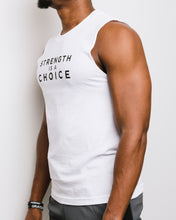 Load image into Gallery viewer, Strength is a Choice Sleeveless Unisex Tee