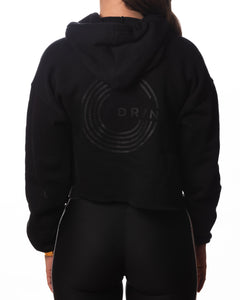EDMB Pullover Cropped Hoodie
