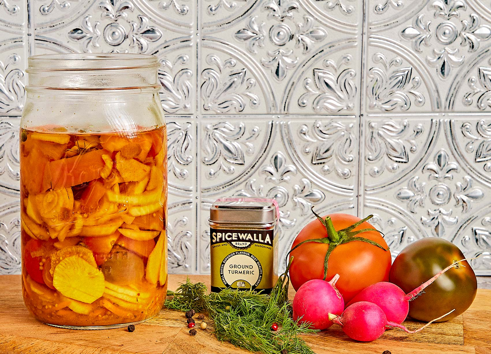 Golden Pickled Tomatoes recipes