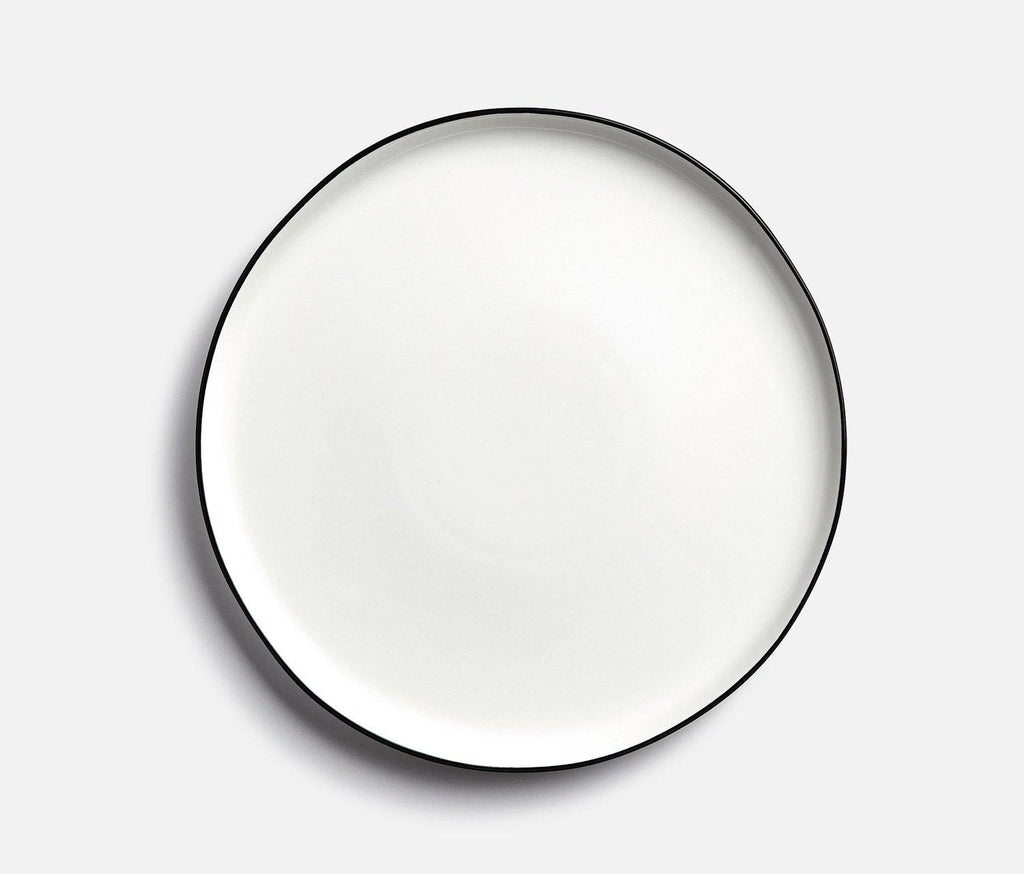 Tableau Black Rim Dinner Plate - Set of 2 - lollygag