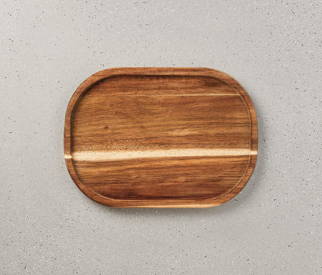 Acacia Wood Small serving Platter - lollygag