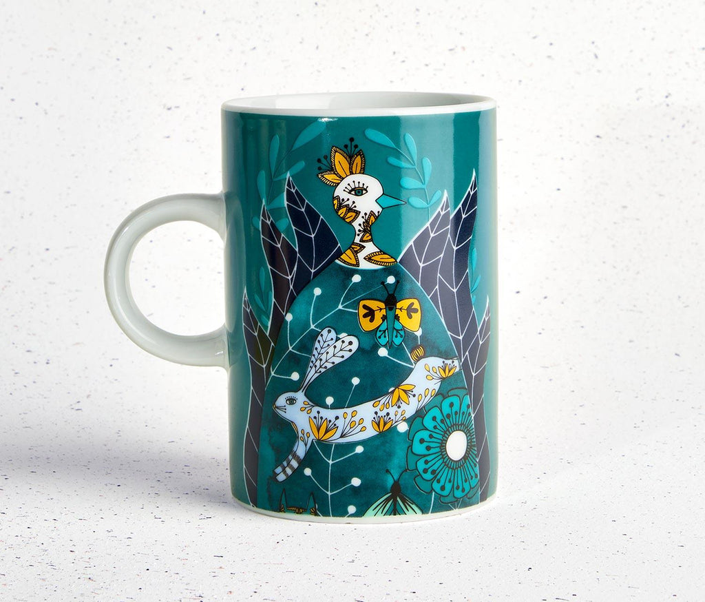 Birdland Tall Mug by Danica Studio - Set of 2 - lollygag