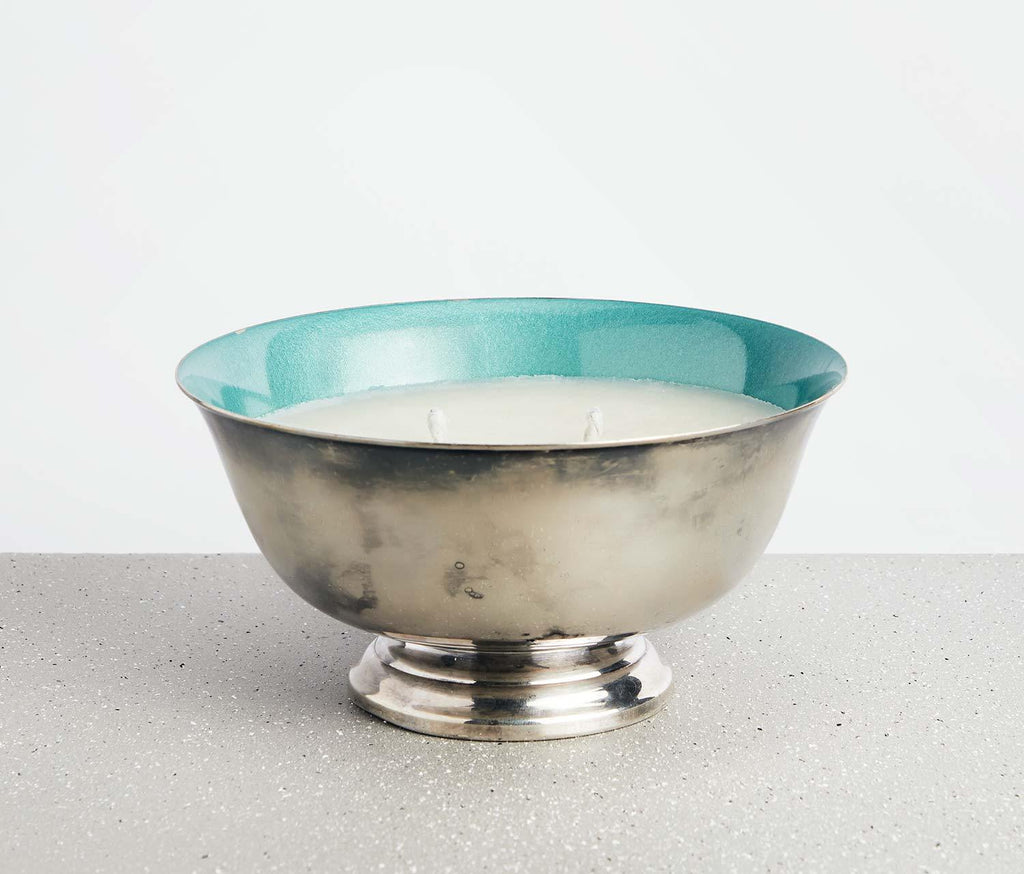 Calliope Cashmere Meditation Candle Bowl