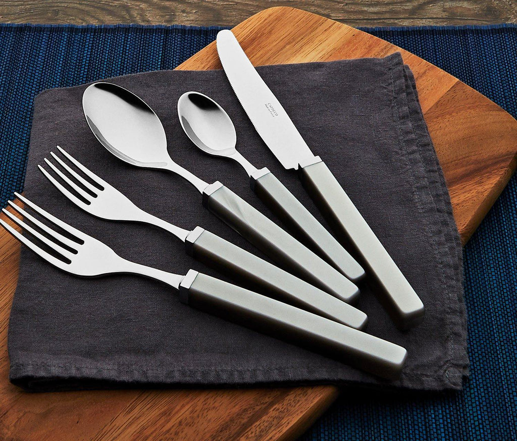 Capdeco City Grey 5-Piece Flatware - lollygag