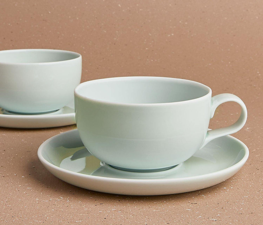 Charlotte Tea & Coffee Cup & Saucer Set of 2 - lollygag