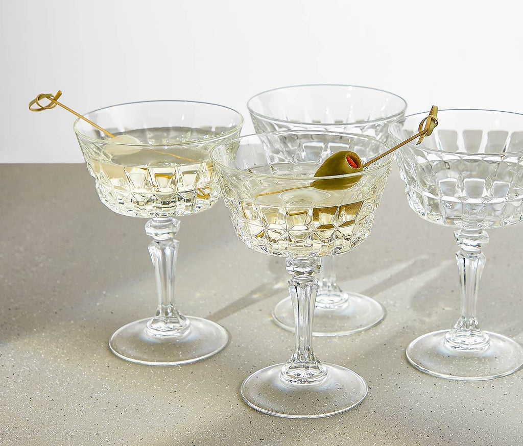 Colbert Coupe Glasses: Set of 4 - Lollygag.co