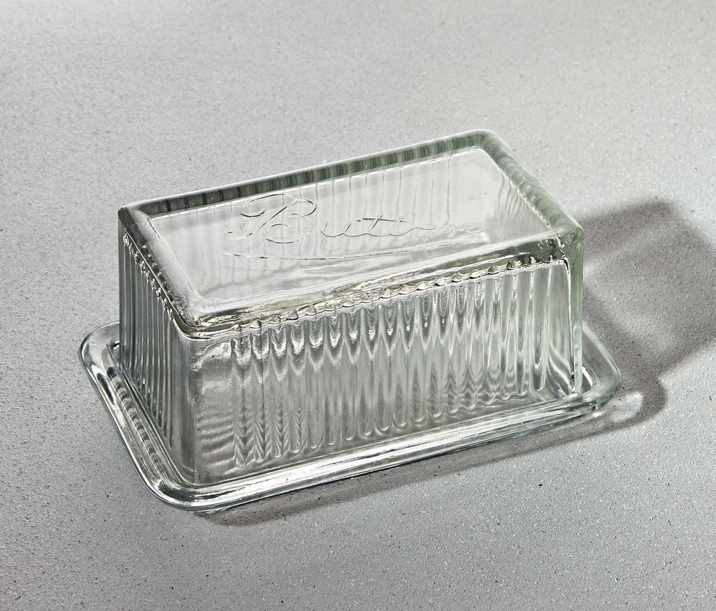 Colette Glass Butter Dish