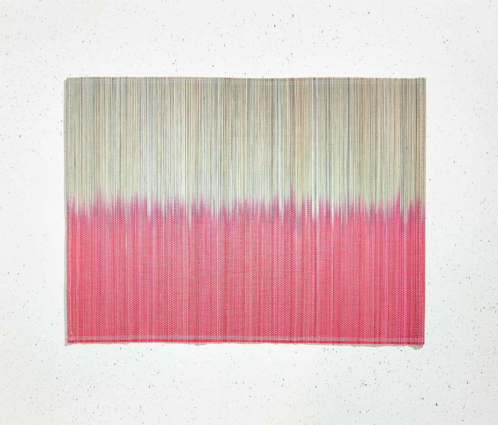 Cyprus Sunset Dip-Dyed Bamboo Placemats - Set of 2 - lollygag
