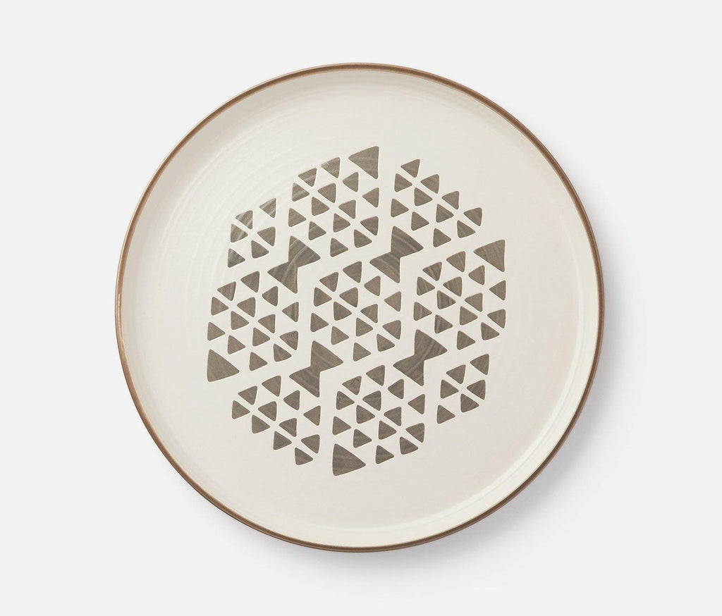 Imprint Zephyr Kaleidoscope Dinner Plate - Set of 2 - lollygag