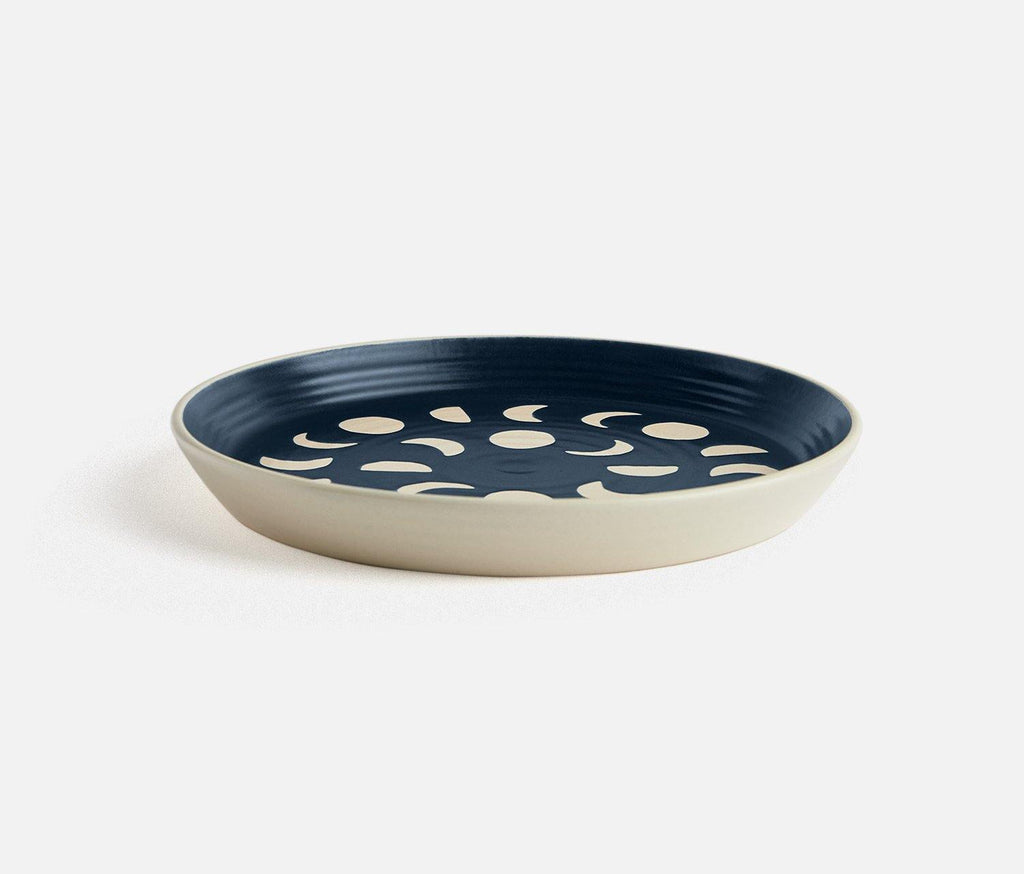 Imprint Indigo Sky Moon Salad Plates - Set of 2 - lollygag