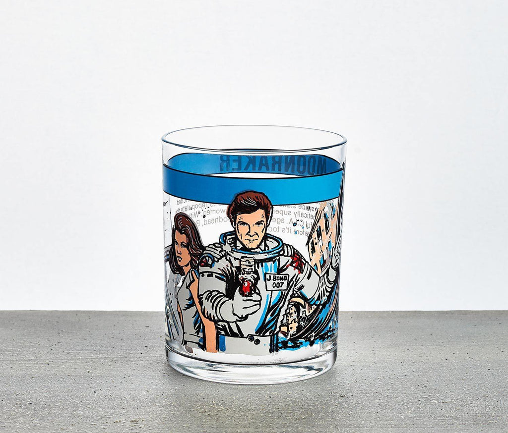 James Bond 007 Moonraker Tumbler - Mint Vintage - lollygag