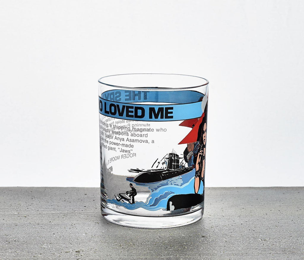 James Bond 007 The Spy Who Loved Me Tumbler - Mint Vintage - lollygag