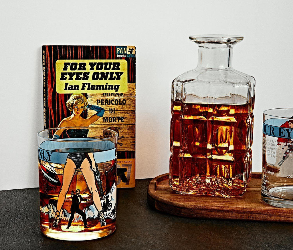 James Bond 007 For Your Eyes Only Tumbler - MINT Vintage - lollygag