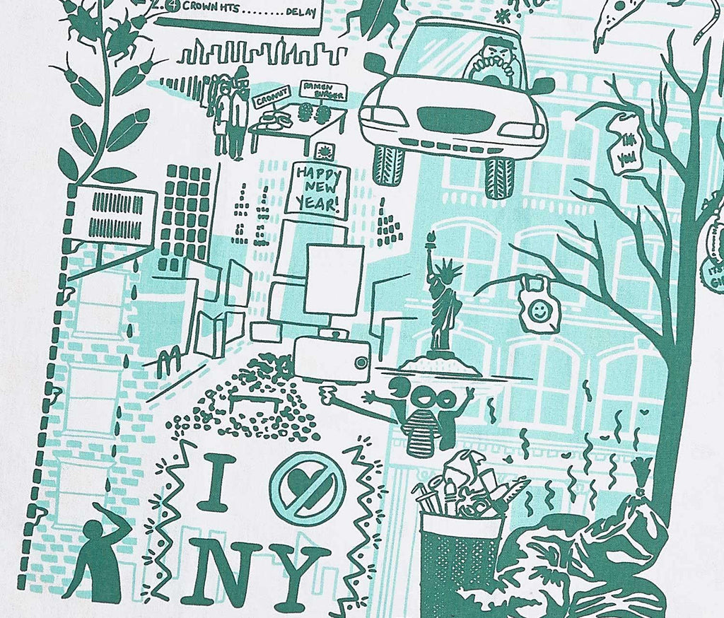 I Love/Hate New York Tea Towels