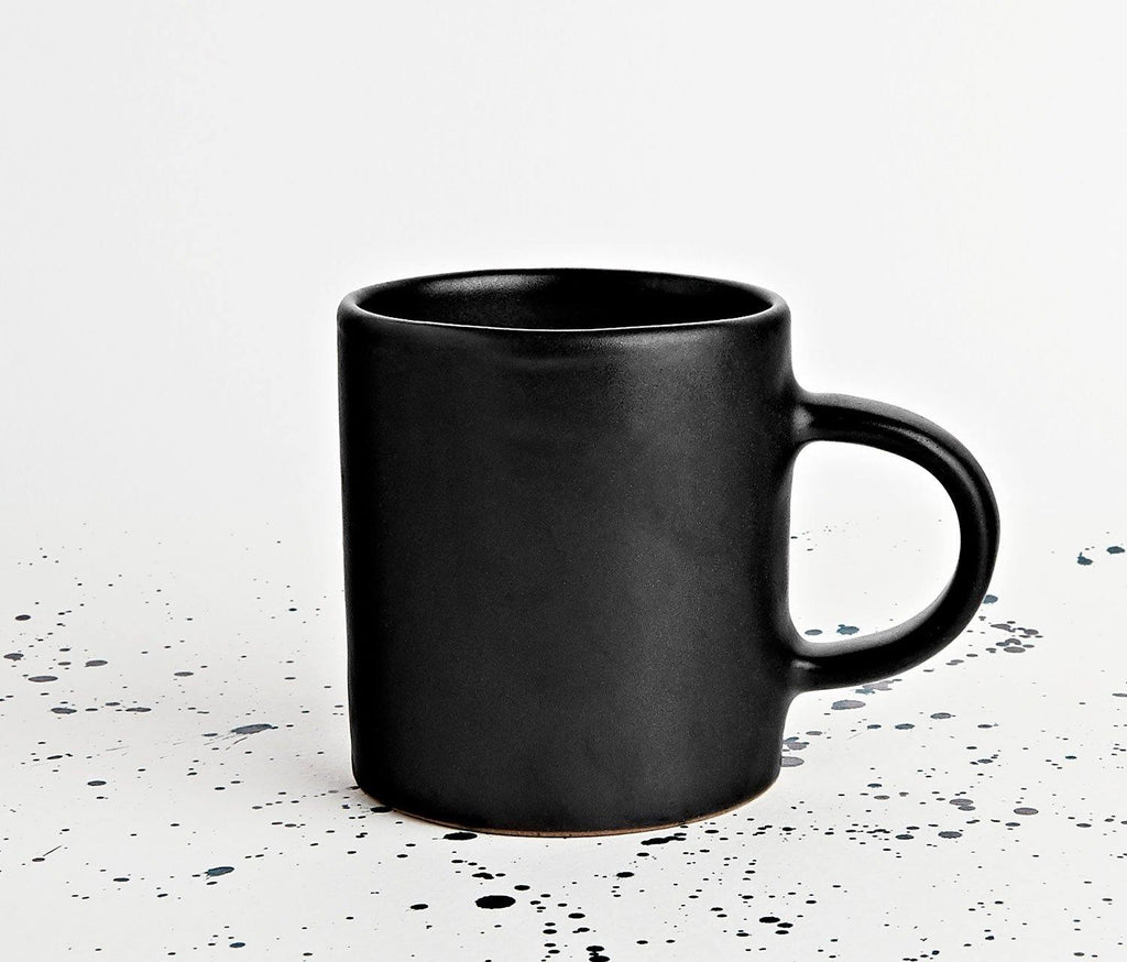 Marcus Matte Black Mug - Set of 2 - lollygag