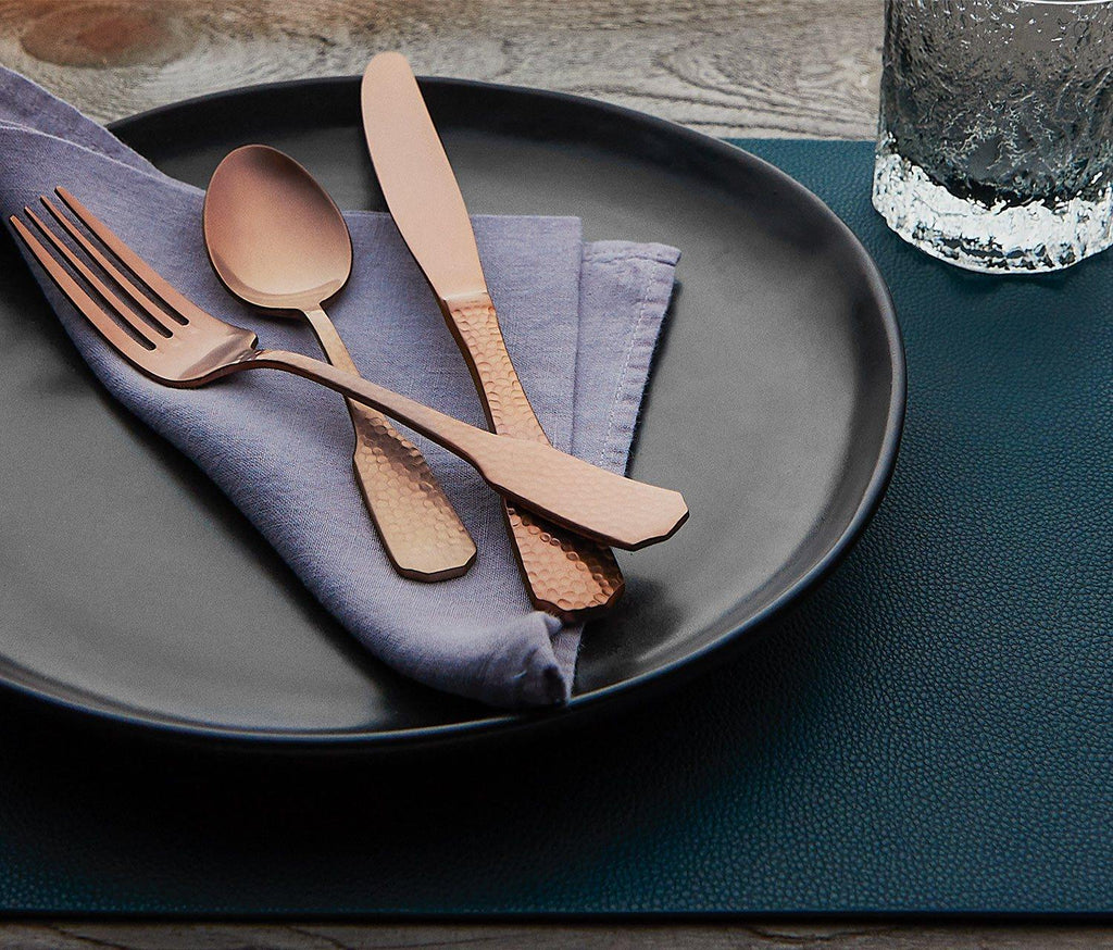 Marcus - Matte Black Dinner Plate - lollygag