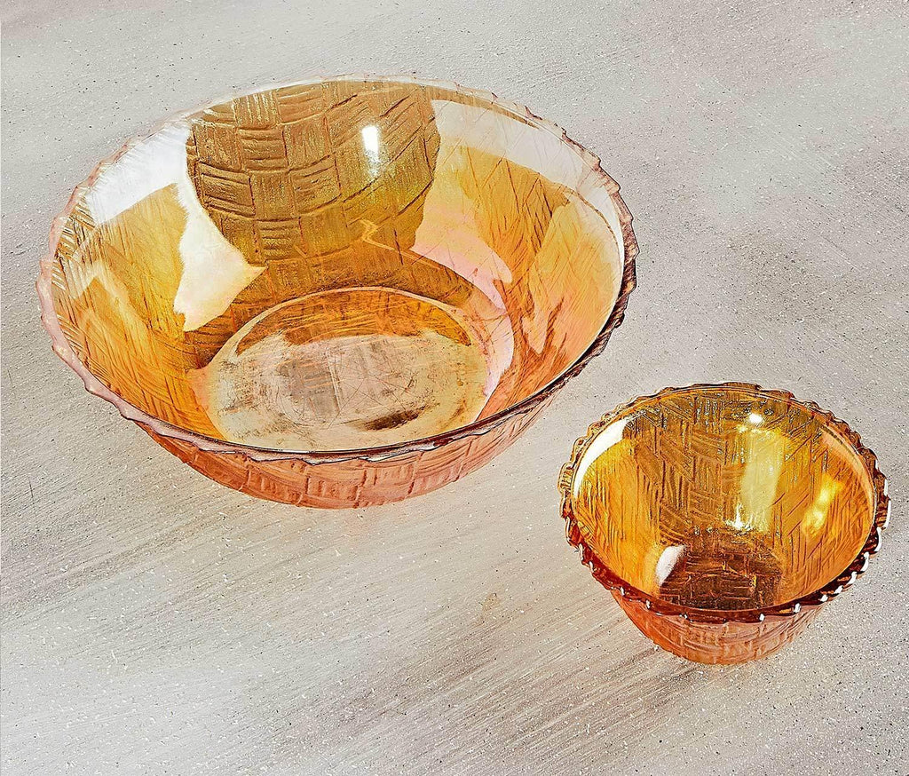 Hollywood Marigold Chips & Dip Serving Set